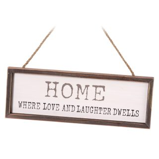 home where love and laughter dwells