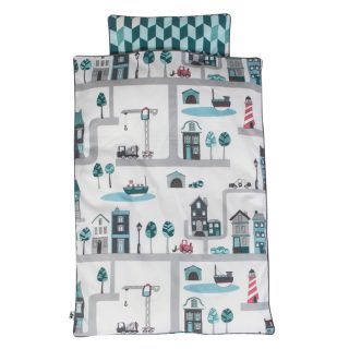 village bed linen boy baby