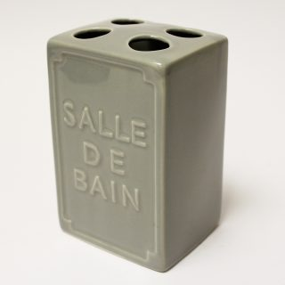 salle de bain toothbrush holder