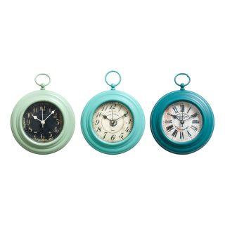 small metal fob clock