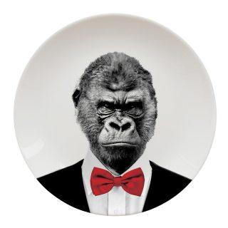 gary gorilla plate