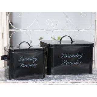 enamel laundry powder boxes
