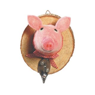 priscilla pig coat hook