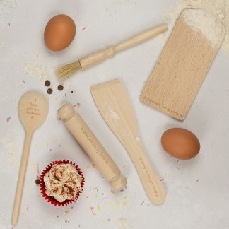 Childrens Personalised Baking Set