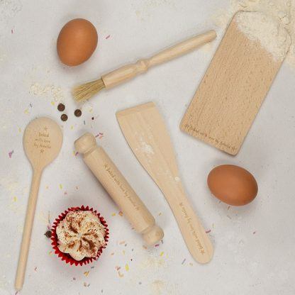 Childrens Personalised Baking Set