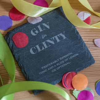Personalised Gin Coaster