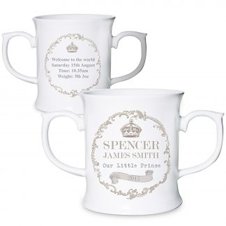 personalised crown cup