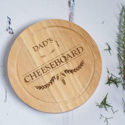 Dads Cheeseboard with Knives Set