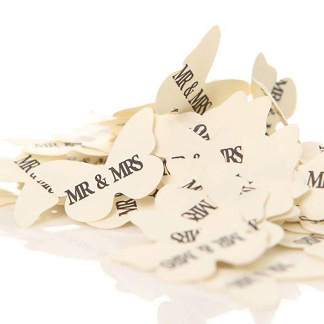 Mr & Mrs Table Confetti