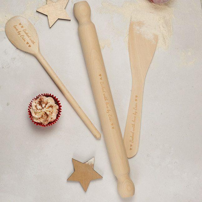 Personalised Baking Set