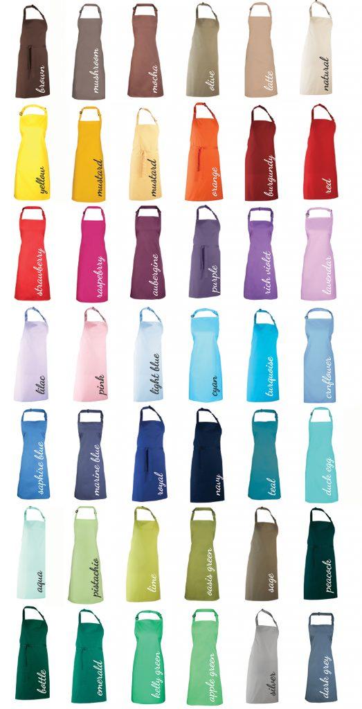Apron Colours
