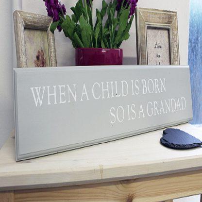 grandad sign