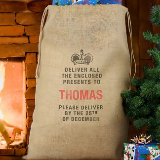 Personalised Christmas Delivery Sack