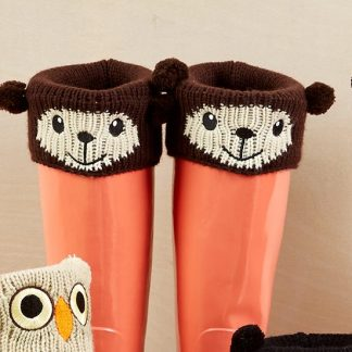 animal boot cuffs, bear