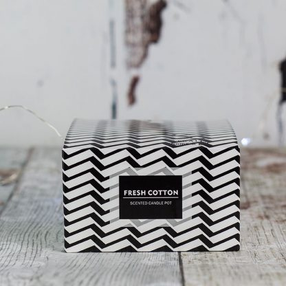 Chevron Scented Candle
