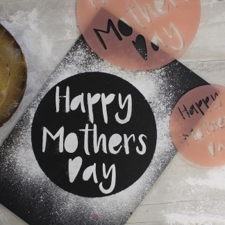 Mothers Day Cake Stencil