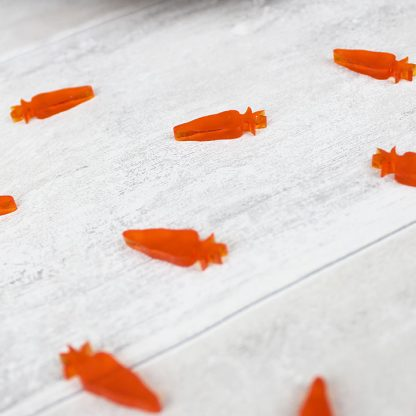 Easter Carrot Table Confetti