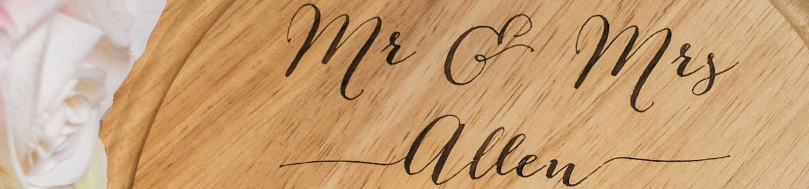 Personalised Wedding Gifts from Lindsay Interiors