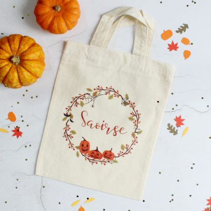 Personalised Trick Or Treat Bag