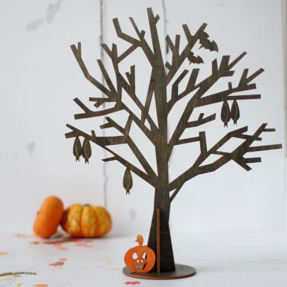 Halloween Tree Black