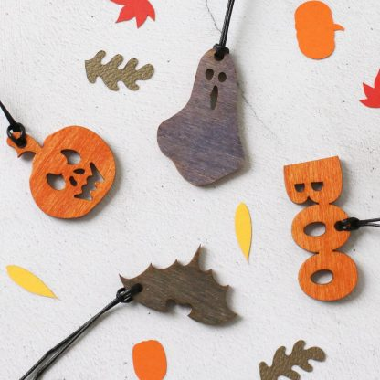 Optional Halloween tree decorations