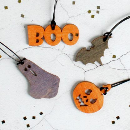 Halloween Decorations, Set Of Eight