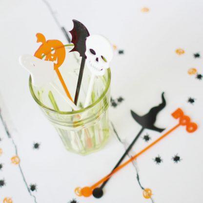 Halloween Drink Stirrers