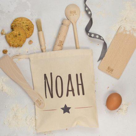 Personalised Kids Star Baker Set