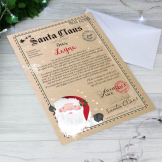 Personalised Letter From Father Christmas