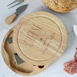 Cheeseboard With Knives