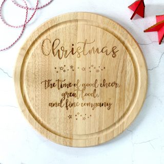 Christmas Chopping Board Gift