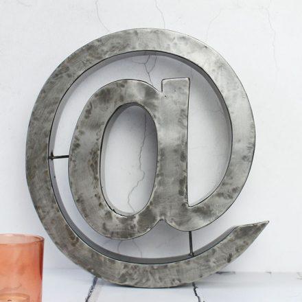 Metal Sign, At @