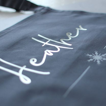 Personalised Snowflake Apron
