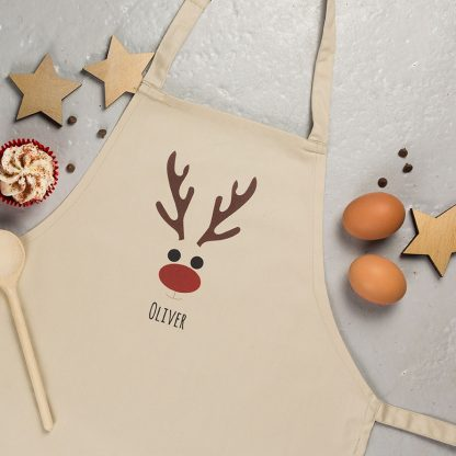 Kids Christmas Apron, Personalised