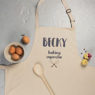 Personalised Baking Apron