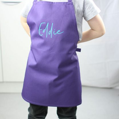 Personalised Name Apron For Kids