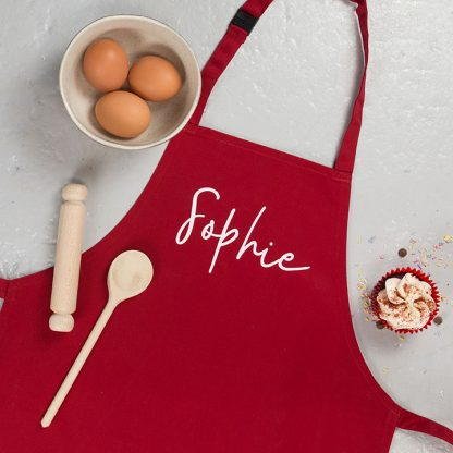 Mummy And Me Apron Set, Personalised