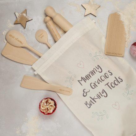 Mummy And Me Baking Set, Personalised