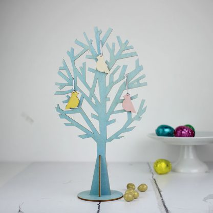 Easter Egg Shaped Tree