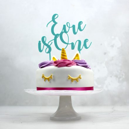 First Birthday Cake Topper, Personalised