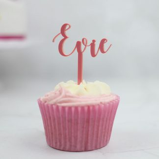 Personalised Name Cupcake Topper