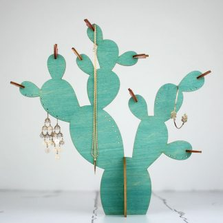 Cactus Jewellery Stand, Prickly Pear