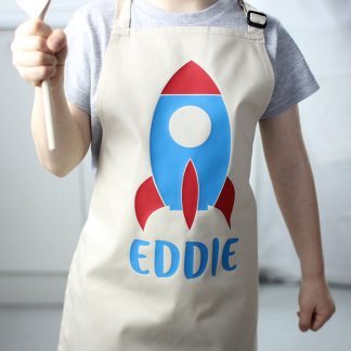 Personalised Apron, Rocket