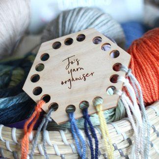 Geometric Yarn Organiser