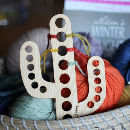 Cactus Yarn Organiser