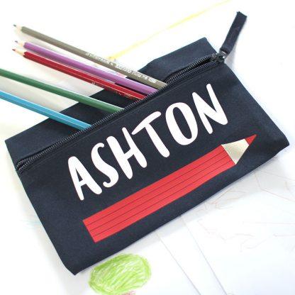 Personalised Pencil Case, Pencil