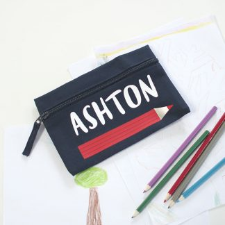 Personalised Pencil Case, Pencil