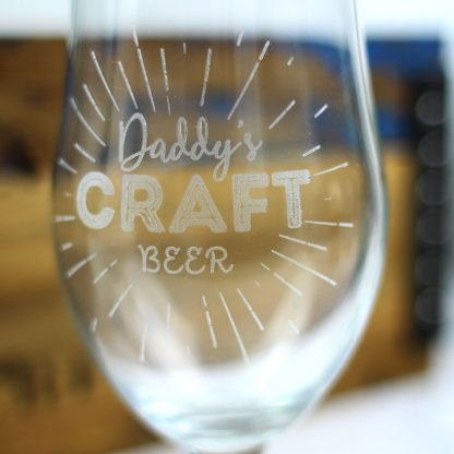 Dad's Craft Beer Glass