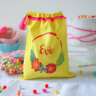 Personalised Party Bag, Tropical