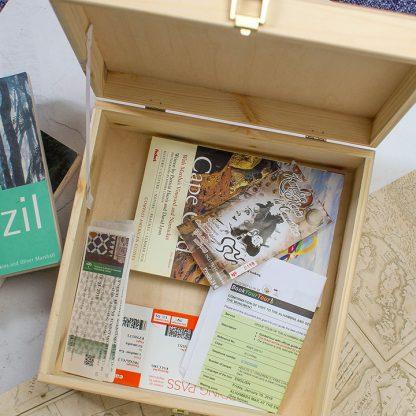 Personalised Adventure Keepsake Box
